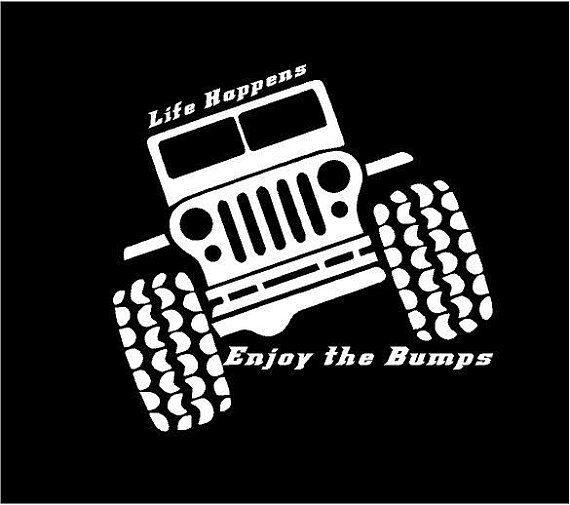 Jeep life happens decal jeep life car decal jeep life vinyl decal jeep life window decal