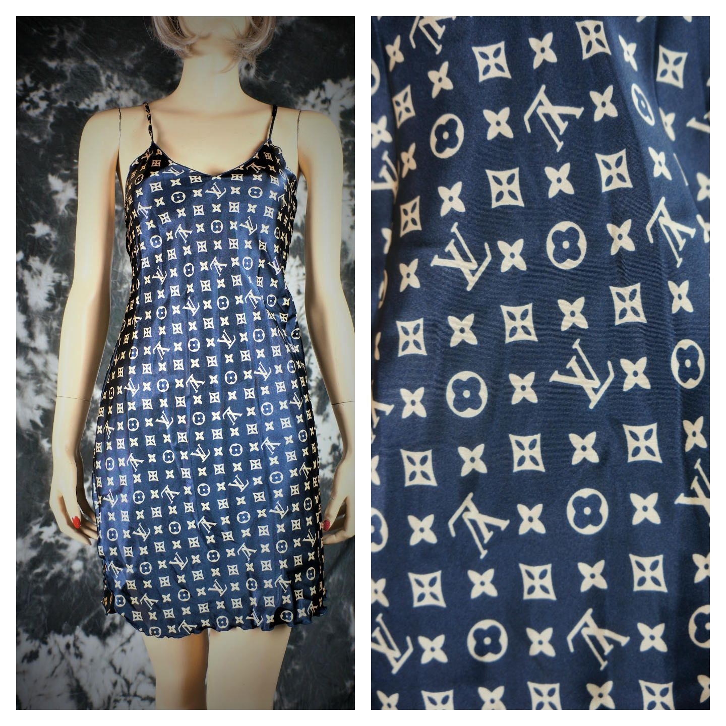 06a52210c15b5 Louis Vuitton Signature Nightgown   Vng Louis Vuitton   Vng Designer  Peignoir   Louis Vuitton Couture Clothing   Chanel   Prada   LV Slip by ...