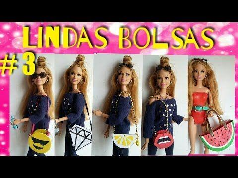 Como Fazer Com Papel Uma Miniatura De Guarda Chuva Para Barbie