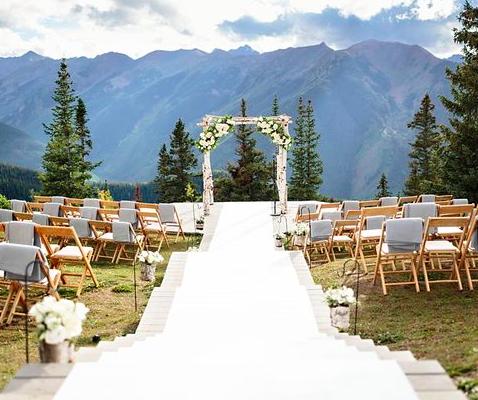aspen mountain arbor Destination wedding, Wedding