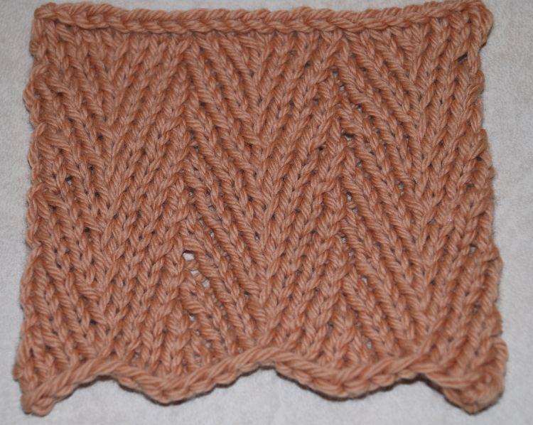 Learn How To Knit The Classic Herringbone Pattern Herringbone