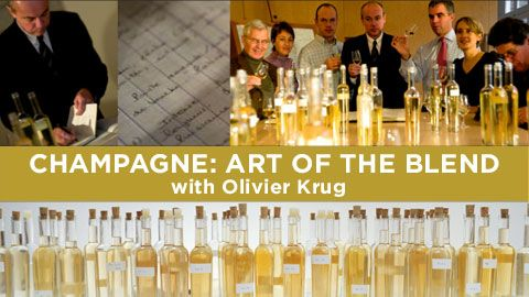 Learn about blending, vintage, maturation and pairing from Olivier Krug, leader of the house that sets the standard for exquisite Champagne.