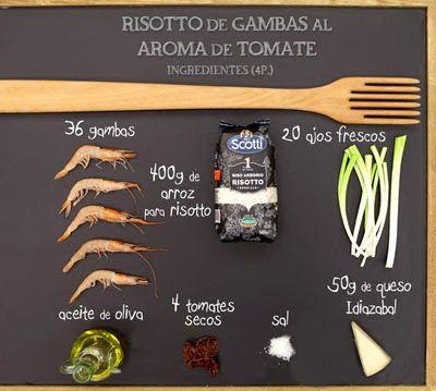 RISOTTO DE GAMBAS AL AROMA DE TOMATE                  Karlos Arguiñano: Google+