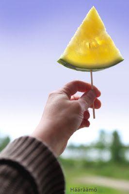 Mehujää melonista http://www.haaraamo.fi