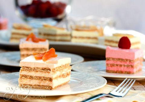 Layered Jello Mousse Cake Recipe Recipes Sweets Desserts