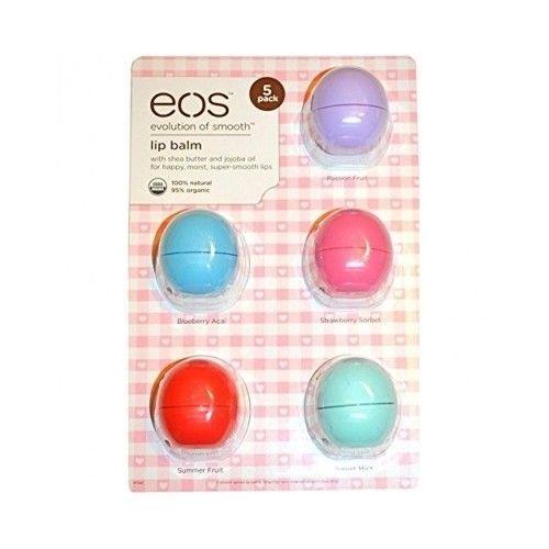 $29.99 Organic Lip Care Shea Butter Jojoba Oil Vitamin E Travel Gym School Work Balm #EOS