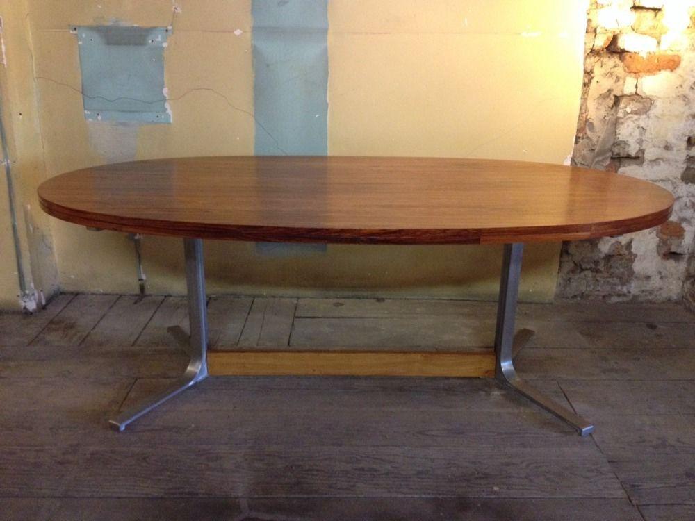 Robert Heritage Rosewood Dining Table Heals Danish Style