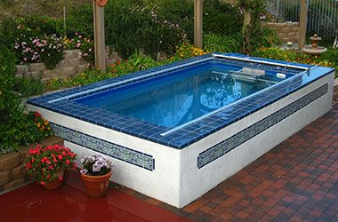 Above Ground Swimming Pool Ideas For The House Pinterest - Above ground endless pool