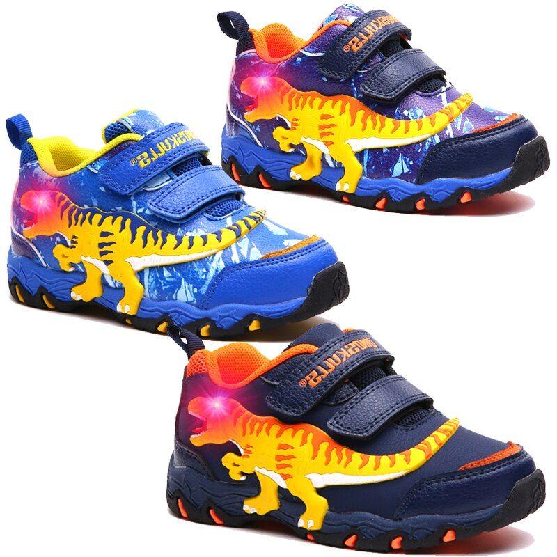 Dinoskulls Kids Boys LED Shoes 3D
