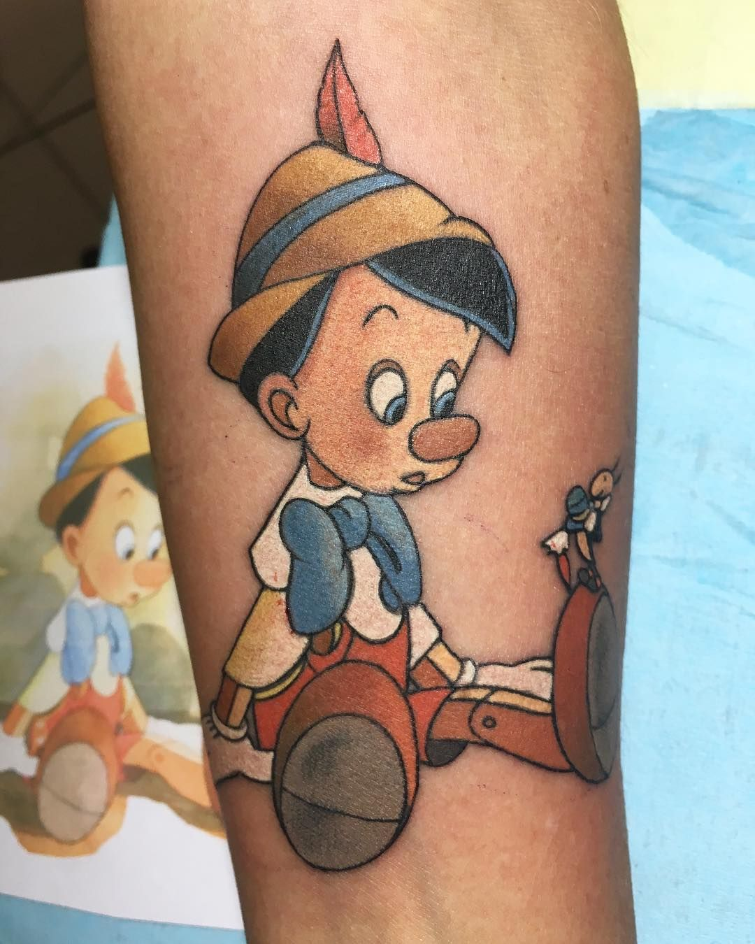 Tatouage Pinocchio Tattoos Disney Tattoos Tattoos Tattoo Designs