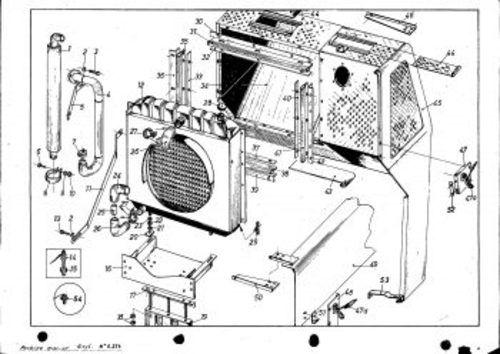 Perkins Engine M135 Serie 103 Accesories Service Parts