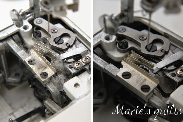 Marie's quilts: Do you love your sewing machine? / Do you like your sewing machine?