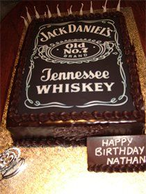 Cute Jack Daniel S Cake A Mixture Of Randomness Kuchen Themen