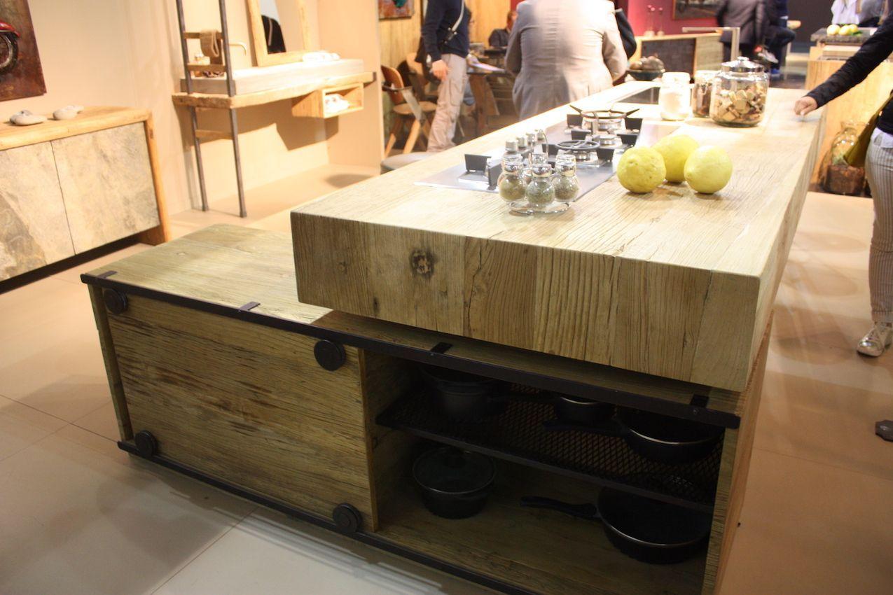 Holz Arbeitsplatten Bringen Warme In Jeden Stil Kuche Dekoration Ideen 2018 Kuchen Ideen Holz Kuche Holz Kuche Eiche Rustikal