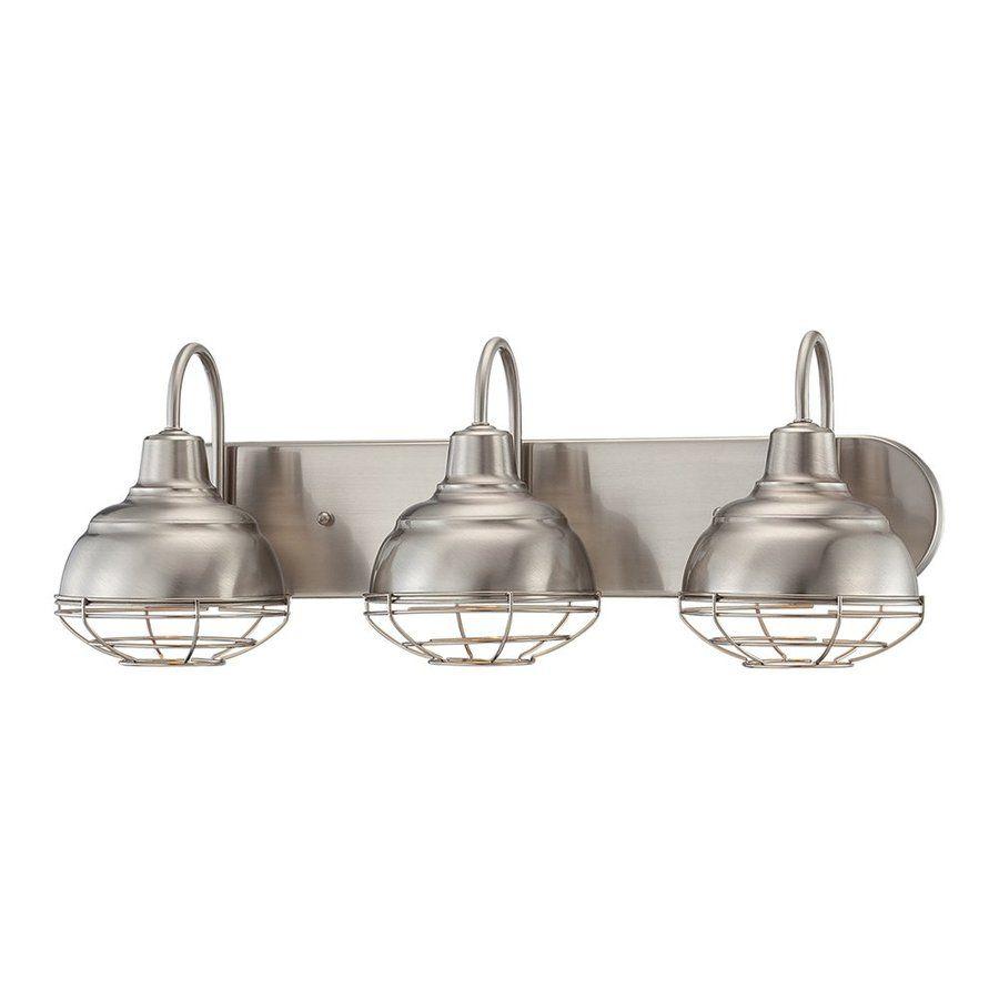 Shop Millennium Lighting 3-Light Neo-Industrial Satin