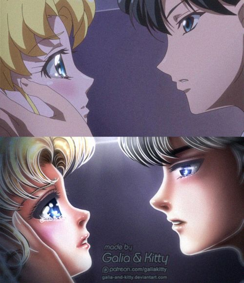 Redraw Don T Cry Usako By Galia And Kitty On Deviantart