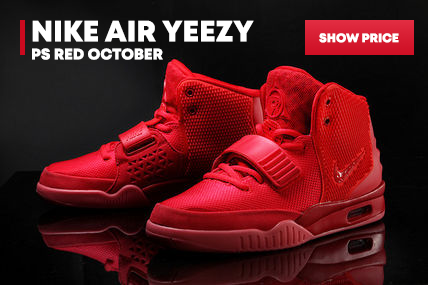 Nike Air Yeezy PS Red October Free Shipping via DHL cheap