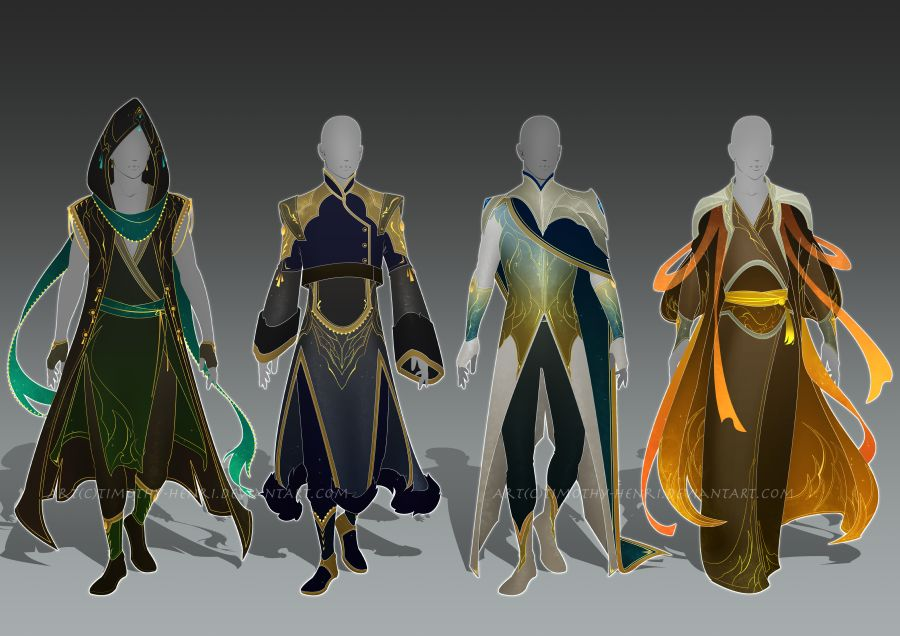 Closed Male Outfit Adoptable Set 025 By Timothy Henri On Deviantart In 2020 Fantasy Art Men Drawing Anime Clothes Character Inspiration