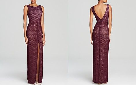 Alice + Olivia Gown - Gemma Lace