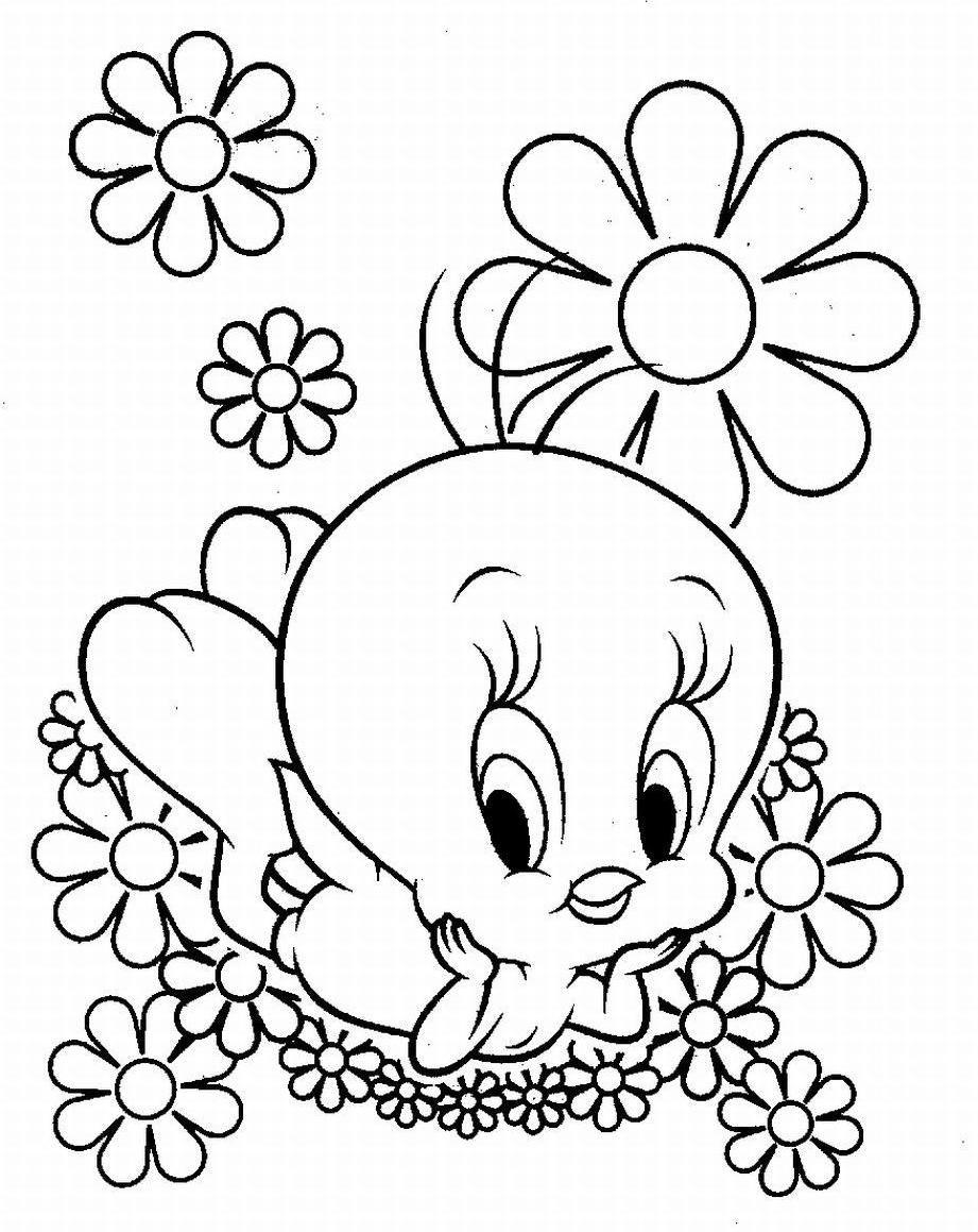 Tweety (Looney Tunes) | Desenhos/Mandalas | Pinterest