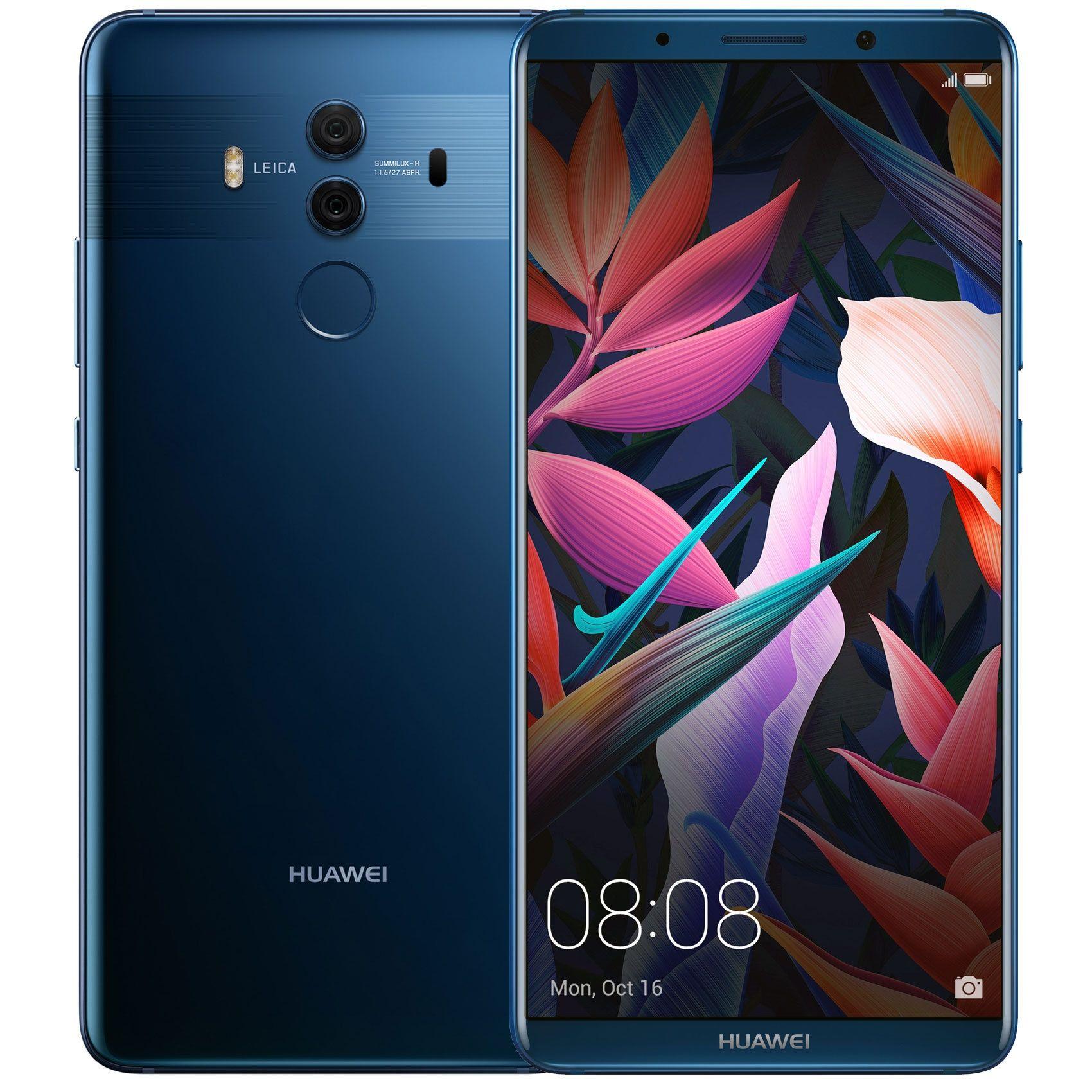 Huawei Mate 10 Pro 6 Fhd 1080x2160 128gb Kirin 970 S Izkustven Intelekt Dual Sim Sin Phones For Sale Android Phone Huawei