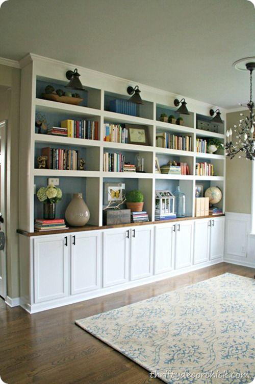 Living Room Ideas Thrifty Attic Lighting