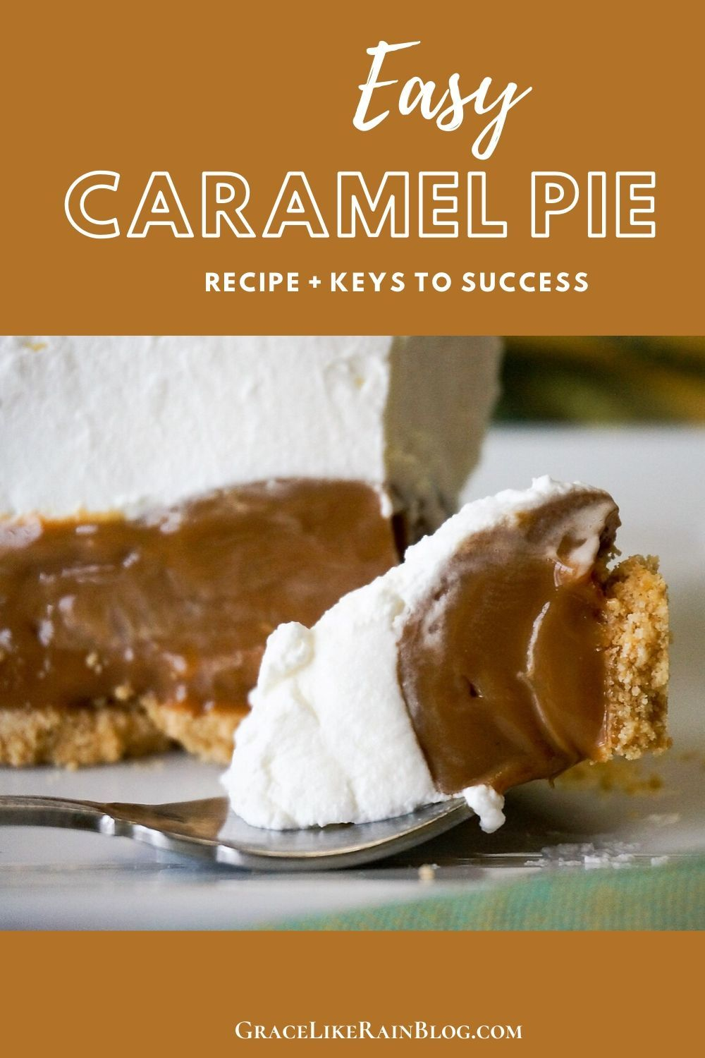 Magic Caramel Pie Recipe In 2020 Caramel Pie Easy Caramel Pie Recipe Unique Pie Recipes