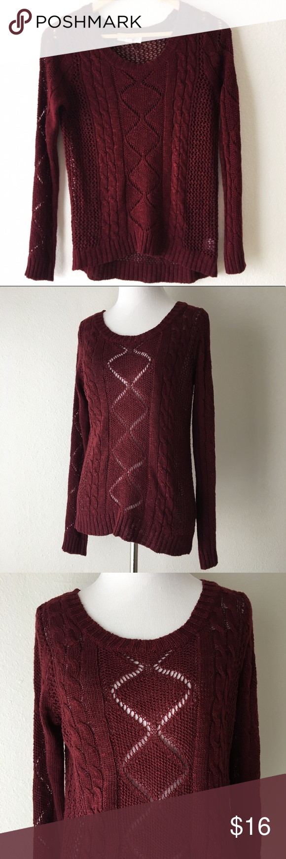 Pink Rose | Burgundy Sweater | Burgundy sweater, Pink roses and ...
