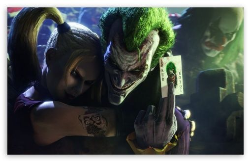 Joker And Harley Quinn Hd Desktop Wallpaper High Definition