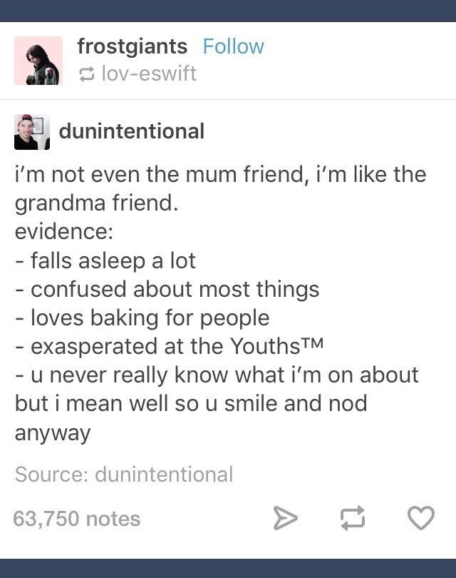 Grandma and friends