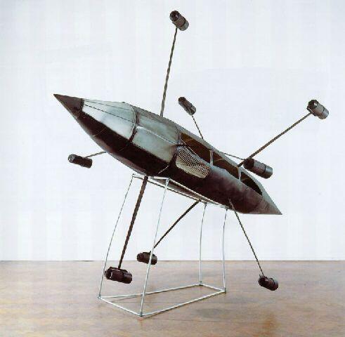 Panamarenko Flying Object Rocket 1969 Hedendaagse Kunstenaars