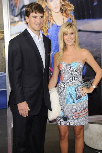 ELI MANNING and wife Abby Manning   QB Eli Manning   New