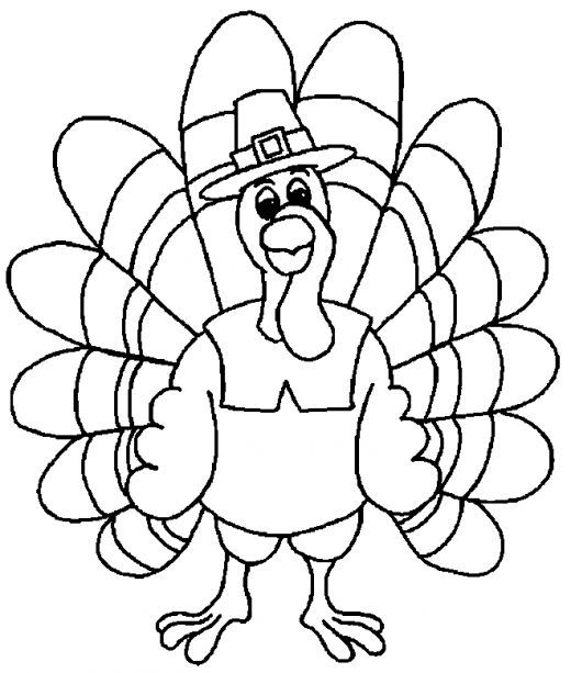 free thanksgiving coloring pages for kids - Free Thanksgiving Coloring Pages
