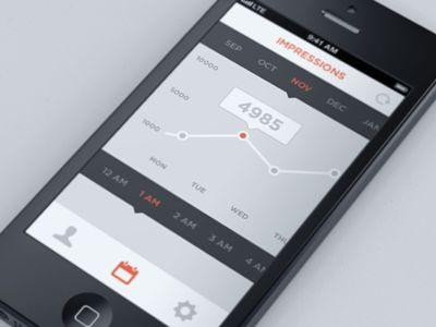 23 Flat Design iPhone Apps - DesignM.ag