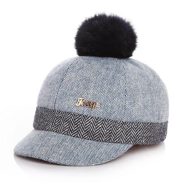 31aa246c6ba So Warm Autumn Winter Baby Baseball Hat For Children Snapback Cap Duck –  sharpeness