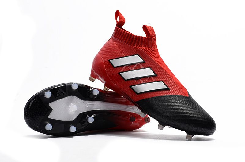 Newest Adidas ACE PureControl FG Red Limit Red White Core Black The new Adidas  Ace PureControl boots feature the same main characteristics as the ...