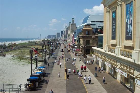 Image result for  the boardwalk in new jersey 2018