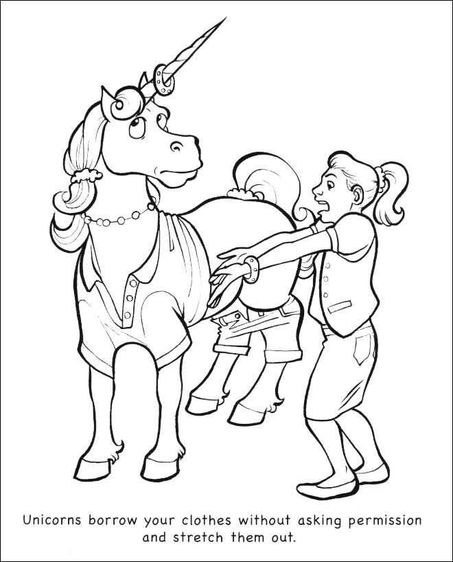 Pin On Coloring Book Unicorns Are Jerks