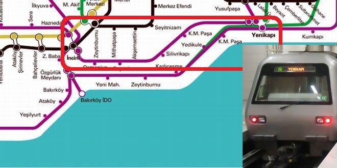 Yenikapı-İncirli-Metro Hattı, Ulaştırma Bakanlığı'na devredildi - İMAR PANOSU