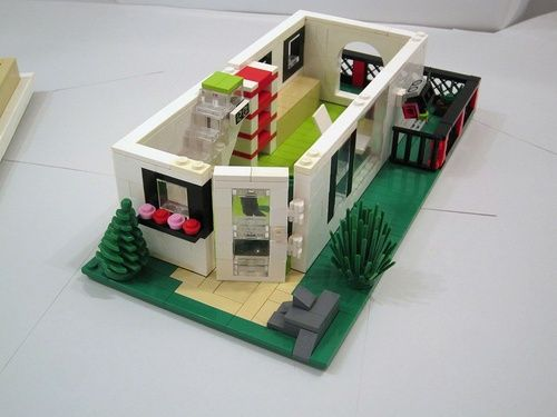 Yellow Lego House Moc   Google Search