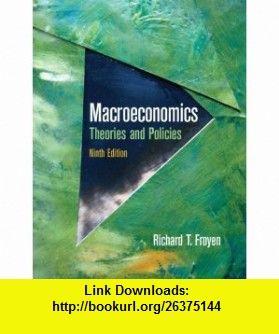 Pdf edition froyen macroeconomics 10th