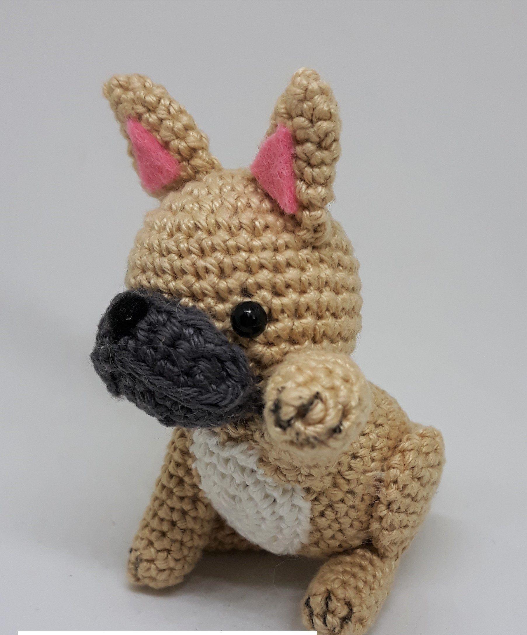 Haakpatroon Nederlands En Engels Amigurumi Franse Bulldog Etsy Crochet Patterns Crochet Cute French Bulldog