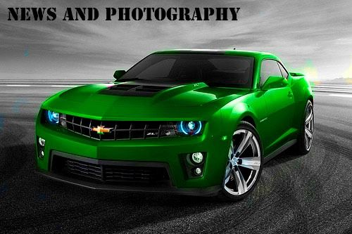 Oh My 2017 Green Chevy Camaro