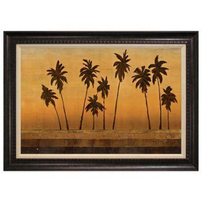 Sunset Palms II Framed Art - BedBathandBeyond.com
