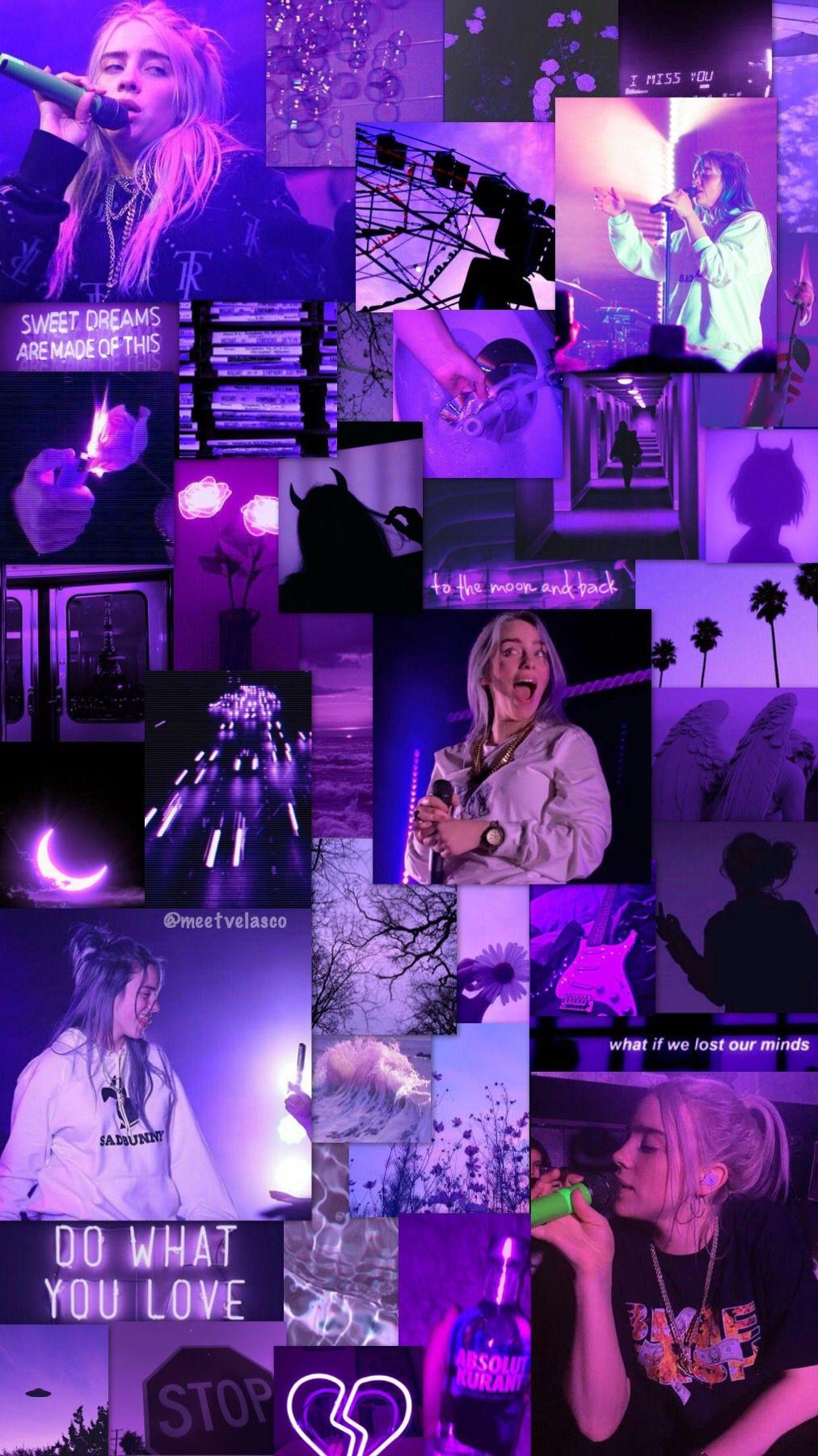 Billie Eilish Lockscreen Wallpaper Fondo Bad Girl Wallpaper Billie Cute Wallpapers