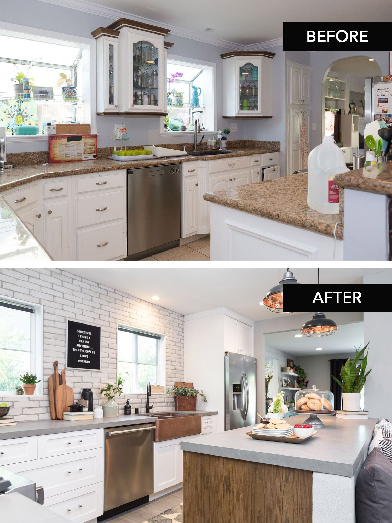 A STUNNING kitchen transformation as seen on episode 110 of ...