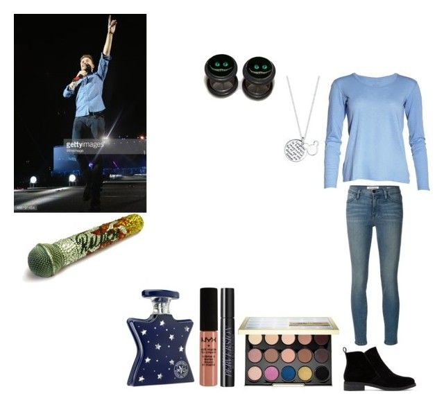 """""""Moments with Liam Payne part 3"""" by amelia-14girlwhoseadirectioner ❤ liked on Polyvore featuring Frame Denim, Lucky Brand, Urban Decay, NYX, Bond No. 9 and Disney"""