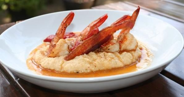 post & beam (grits & shrimp) - In LA, Restaurateur Brad Johnson is Creating Contemporary Soul Dishes 'Without Losing Authenticity'