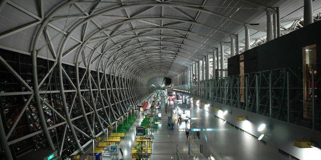 Aeroporto Osaka Renzo Piano : Kansai international airport terminal renzo piano