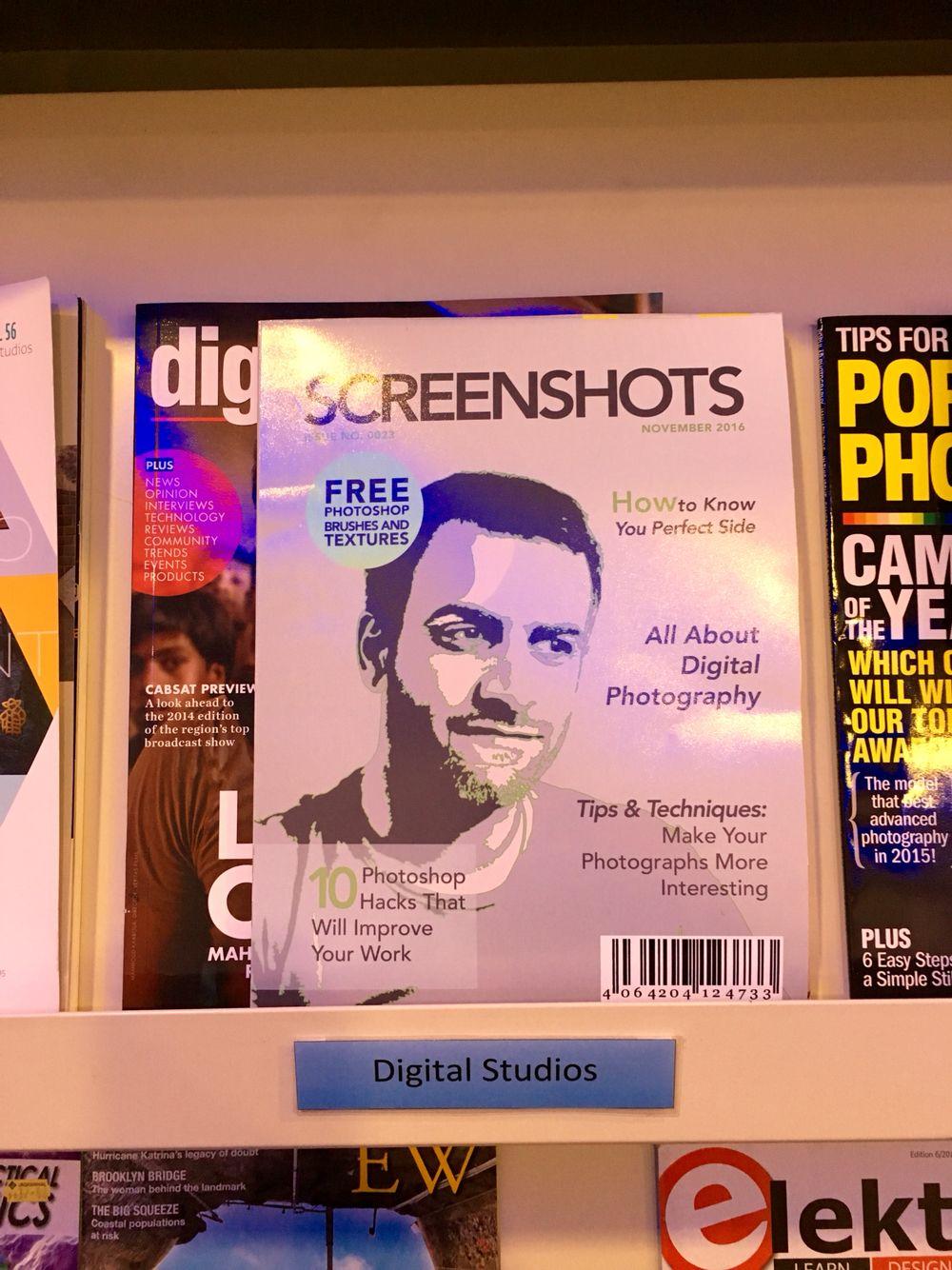 Magazine cover design Advanced Magazine cover